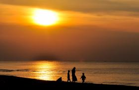 Lovina sunset