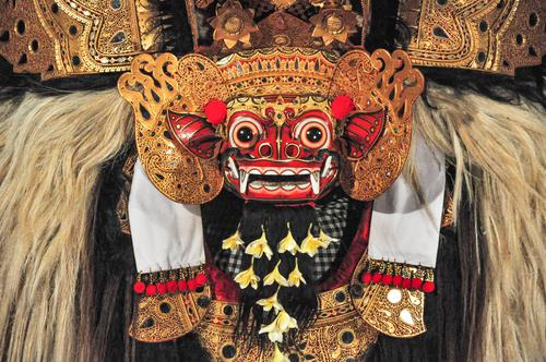 Barong dance at Villa Bossi